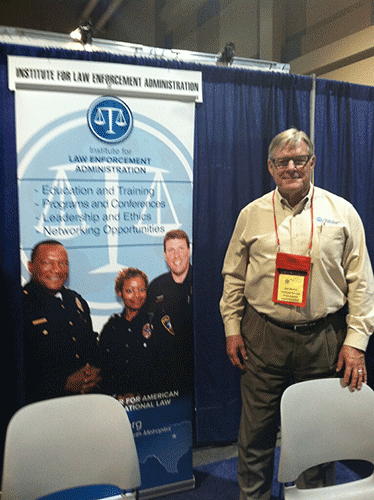 ILEA Director Neil Moore at Texas Police Chief's Association